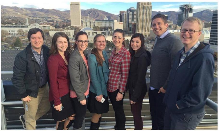 Some of the KSL.com team.
